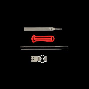 Werkzeuge für Schneidgarnitur-Pflege