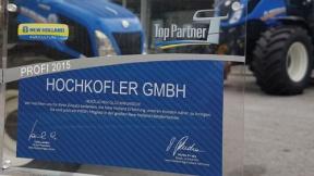 Hochkofler ist nun Profi-Partner!