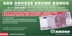 Krone Bonus 2018