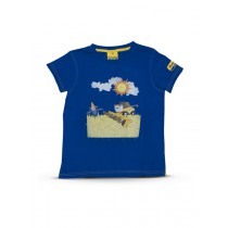 New Holland Kinder-T-Shirt, CR, Blau