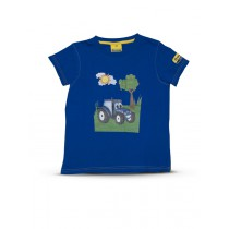 New Holland Kinder-T-Shirt, T, Blau