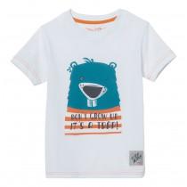 Stihl T-Shirt weiß Kinder Biber