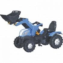 New Holland  T7.315 Trettraktor mit Frontlader - Rolly Toys Farmtrac