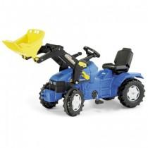 New Holland  TD5020 Trettraktor mit Frontlader - Rolly Toys Farmtrac
