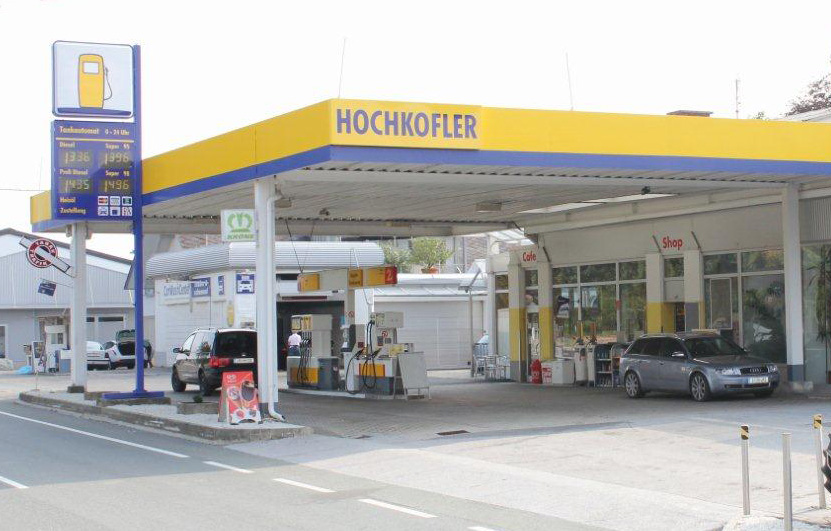 Tankstelle mit 24 Stunden Tankautomat in Wies