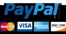 Sicher bezahlen mit Paypal!